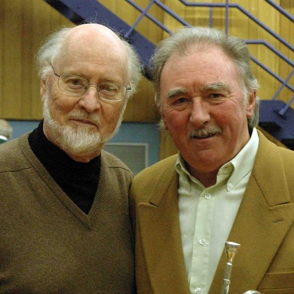 Maurice Murphy and John Williams   image from Denis Wick Products